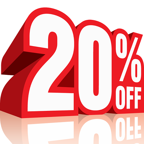 20% Off Now
