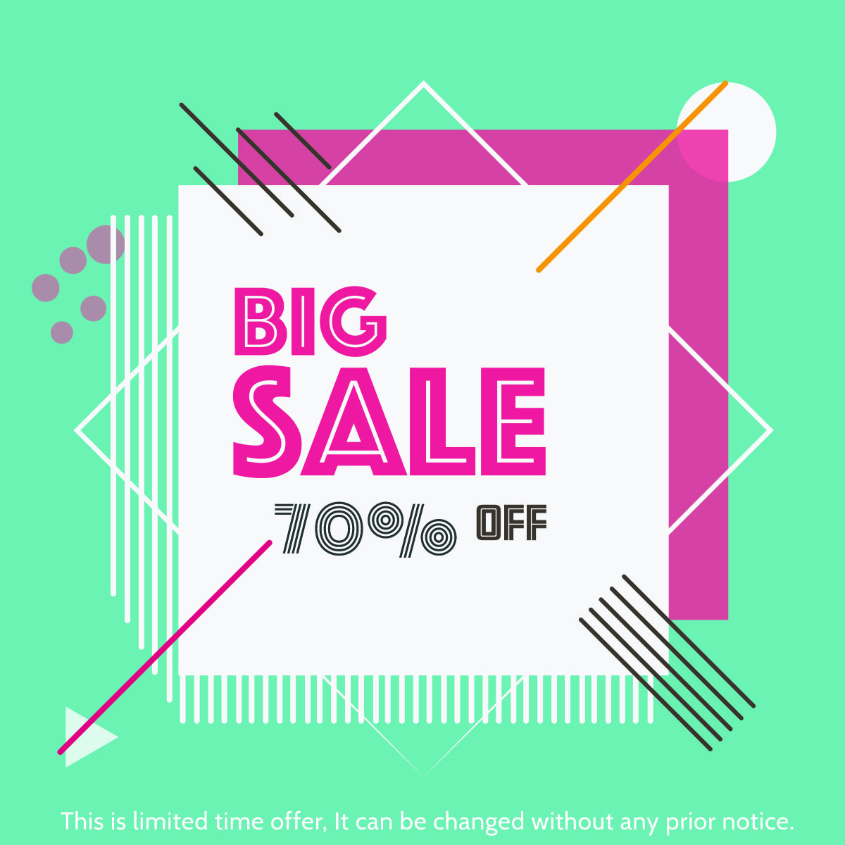 Big Sale Offer